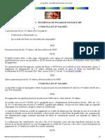 13º SALÁRIO - INCIDÊNCIAS DE INSS, FGTS E IRF