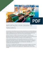 IMPORTAÇÃO POR CONTA E ORDEM DE TERECEIROS - EBPO