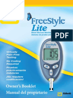 Freestyle Lite Instruction Manual