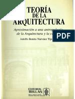 Narváez, A. B. (2003) Niveles de existencia del hábitat (aparte cap. 3 - Teoría de la arquitectura)