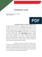 Recomendacao 06-2020 vedacao-suspensao-agua_luz Amelia