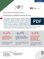 Statistica Report Bilancio Demografico 2018