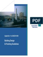 SA Building Design Guidelines & Finishiing