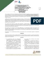 Convocatoria Beca Para Estudios de Posgrado 2020-2 - Inicio