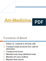 Anatomy of Blood