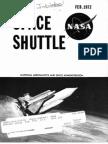 Space Shuttle Fact Sheet 1972