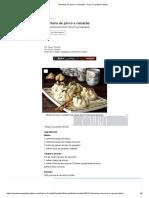Wontons de porco e camarão - Casa e Jardim _ Petisco