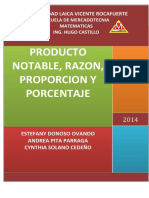 PRODUCTO NOTABLE