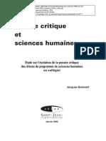 BOISVERT. J. PENSAMIENTO CRITICO Y CIENCAS HUMANAS.pdf