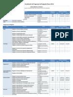 Estado de Acreditacion Programas de Postgrado Enero 2011