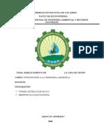 DEBILITAMIENTO DE LA CAPA DE OZONO (1)