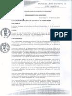 Ordenanza N° 003-2019-MDPN