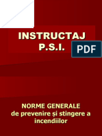 Instructaj PSI