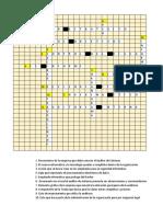 Crucigrama de Conocimientos de Clase