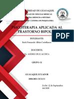 APLICAION DEL TRATAMIENTO PSICOTERAPEUTICO EN EL TRASTORNO BIPOLAR
