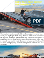 Everything You Need to Know About Common Roadside Emergencies