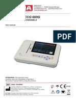 Ecg Contec 600G user manual