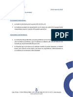 Informe Actividad Diaria