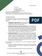 Informe Actividad en Cerros