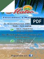 Carta Mateo 2020