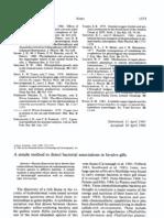 Method of detecting Bacteria in Bivalve gills