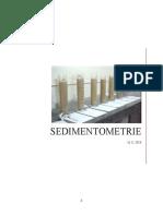 T.P Sedimentometrie