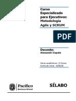 Sílabo - Metodología Agile y Scrum 2020 09
