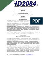 LEY 1287 DE 2009 PERSONAS CON MOVILIDAD REDUCIDA