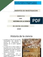 HISTORIA DE LA CIENCIA (2)