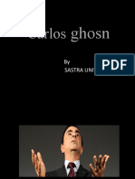 CARLOS GHOSN - Case Study