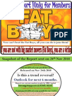 Fat Boys And You - How to Make Profit in These Market Conditions - Dec 2010