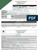 Reporte Proyecto Formativo - 1065983 - FORTALECIMIENTO DEL DISEÑO Y E