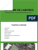Informe Labores 01 Comision