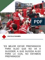 PLAN DE RESPUESTA EN EMERGENCIAS MASIVAS Y DESASTRES..ppt