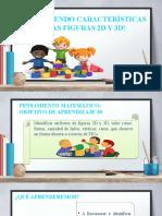 Figuras 2D Y CUERPOS 3D CARACTERÍSTICAS