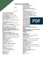 Guía de oncología