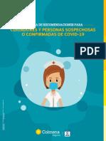Recomendaciones pacientes y cuidadores COVID-19