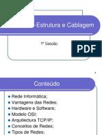 Infra-Estrutura e Cablagem_Sessão1