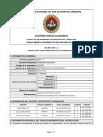 SILABO-INSTRUMENTACION Y AUTOMATIZACION (2020-A)