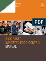 manual alimentos importados