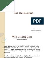 Web Development intro