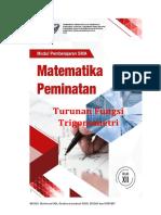 Modul Matematika Peminatan XII KD 3.3