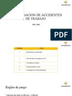 INVESTIGACIÓN DE ACCIDENTES - NRC 2498