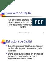 2. Estructura de Capital