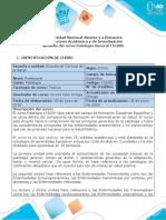Syllabus del curso Patología General