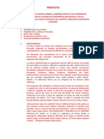 PROYECTO - GESTION CULTURAL