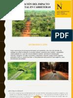 ESTUDIO DE IMPACTO AMBIENTAL EN CARRETERAS - GRUPO 06 16.05.20.pptx