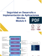 6. SEDTOLIMA - MODULO No. 6  Desarrollo Seguro