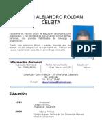 HOJA DE VIDA ALEJANDRO