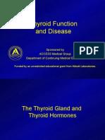 ThyroidFunctionandDisease